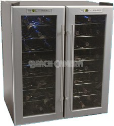 Haier Electronic Thermal Electric Wine Cellar - 48-Bottle Capacity - HVTF48DPABS