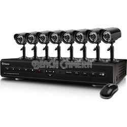 DVR8-2550 8 Channel DVR with Smartphone Viewing & 8 x ADS-180 Cameras