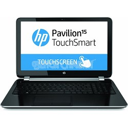 "Pavilion TouchSmart 15.6"" 15-n220us Notebook PC - AMD Quad-Core A6-5200 Proc."