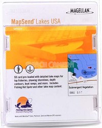MapSend Lakes USA - South Software (SD card)