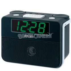 AM/FM Dual Alarm Clock Auto Time Set Clock Radio