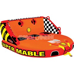 Super Mable Inflatable Triple Rider Towable