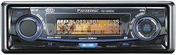 CQ-C8303U In-Dash Receiver w/CD player and  iPod-ready MP3/WMA playback
