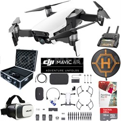 Mavic Air Fly More Combo Arctic White Drone Pro Photo Edit Case VR Landing Pad