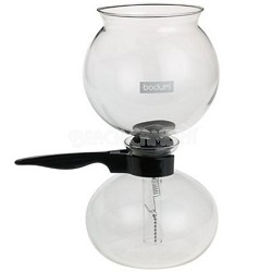 Santos Stovetop Glass Vacuum 34-Ounce Coffee Maker