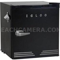 1.6 CuFt Retro Fridge Dormitory Refrigerator (Black) - FR176BLACK