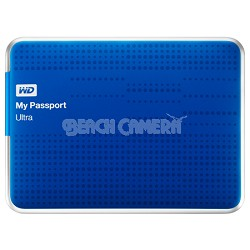 My Passport Ultra 2 TB USB 3.0 Portable Hard Drive - WDBMWV0020BBL-NESN (Blue)