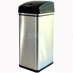 Deodorizer 13 Gallon Automatic Touchless Trash Can w/ Carbon Filter - OPEN BOX
