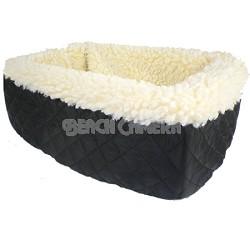 Console Pet Car Seat - Large / Black