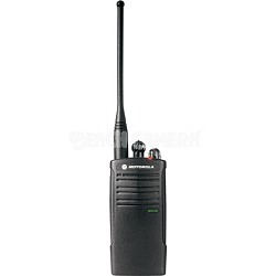 RDU4100 On-Site 10 Channel UHF Water-Resistant Two-Way Business Radio - Black