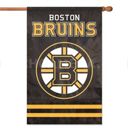 Bruins Applique Banner Flag - AFBRU