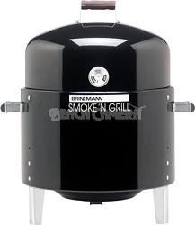 Smoke N Grill Single Charcoal Smoker and Gril