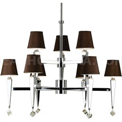 Margo 9 x 60-Watt Light Candle Base Chandelier - 6900-9H
