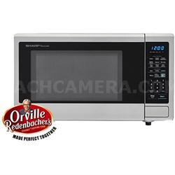 1.4 Cu.Ft. 1000 W Carousel Countertop Microwave Oven - SMC1442CS