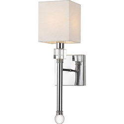 Sheridan 1-Light Wall Sconce 5 W x 18.5 H x 7 E Hardwire Only
