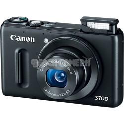 PowerShot S100 Digital Camera (Black)