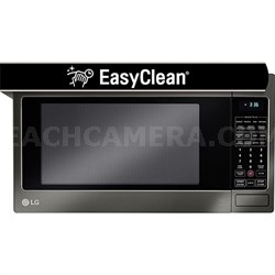 2.0 Cu. Ft. 1200W Countertop Microwave Oven in Black Stainless Steel (OPEN BOX)