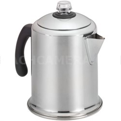 50124 8-Cup Stainless Steel Percolator - OPEN BOX