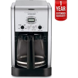 12-Cup Programmable Coffeemaker Factory Refurbished + 1 Year Warranty