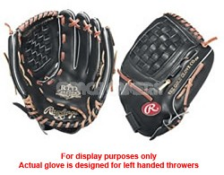 """RTD125 Special Edition 12.5"""" Baseball Glove- Left Handed Throw"""