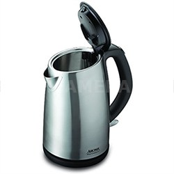 Professional Stainless Steel Electric Kettle, 1.7 L, Silver