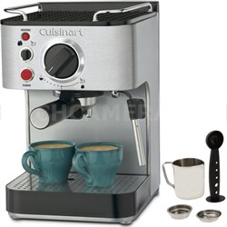 EM-100 15-Bar Stainless Steel Espresso Maker (Factory Refurbished)