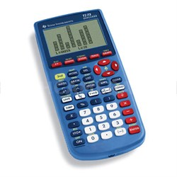 Graphing Calculator in Blue - 73/CLM/2L1/A