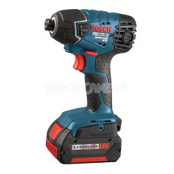 25618-01 18V Impact Driver w/ 2 Fat Pack Batteries