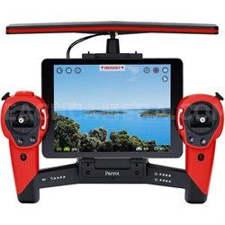 Skycontroller for Bebop Quadcopter Drone - Battery Included (Red) - OPEN BOX