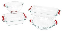 Accents 4-Piece Bakeware Set - Open Box