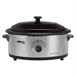6qt SS Roaster Cook Oven
