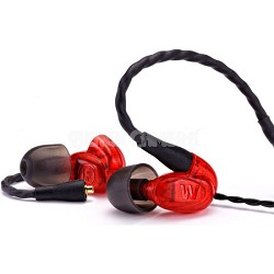 UM Pro 10 High Performance In-ear Headphone (Red) - 78550
