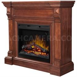 William Electric Fireplace - Mantel, Burnished Walnut