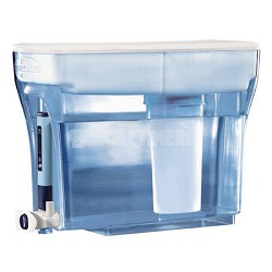 23 Cup Filtration Pitcher/Dispenser with Filter and free TDS Water Testing Meter