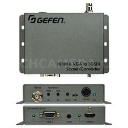 HD and VGA to 3GSDI Scaler Converter - EXT-HDVGA-3G-SC