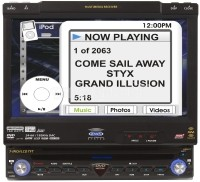 """VM9411 In dash DVD player with 7"""" video screen"""
