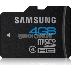 microSD High Speed 4GB Waterproof and Shockproof Memory Card + SDHC Adapter