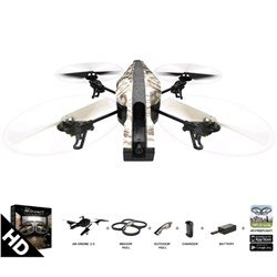 AR Drone 2.0 Elite Edition App Controlled Quadcopter Sand -Certified Refurbished