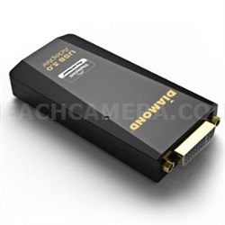 USB 3.0 to VGA / DVI / HDMI Video Graphics Adapter - BVU3500