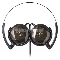 ATH-FW33  BIJOUE FashionFidelity On-ear Headphones (Brown)