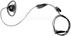 Earpiece with In-line PTT Microphone for RDX,XTN,CLS,and DTR Series