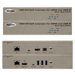 HDKVM ELR Extender for HDMI and USB over One CAT5 - EXT-HDKVM-ELR