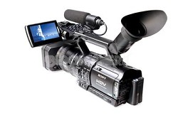 HVR-Z1U 3-CCD HDV Professional Widescreen Mini Camcorder