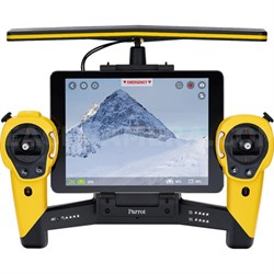 Skycontroller for Bebop Quadcopter Drone - Battery Included (Yellow) - OPEN BOX