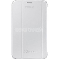 "White Book Cover for 7"" Galaxy Tab 3 Lite Tablet"