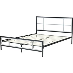 Hanover Lincoln Square Twin Metal Bed Frame