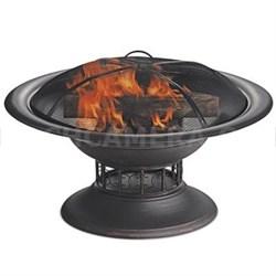 """19.7""""H Wood Burning Firebowl"""