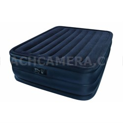 Raised Downy Air Mattress, Queen - OPEN BOX