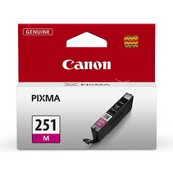 CLI-251 Magenta Ink Tank for PIXMA iP7220, MG5420, MG6320 Printers