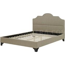 Hanover Paris Upholstered Full Bed Frame
